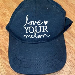 Love Your Melon Solid Black Baseball Ball Cap